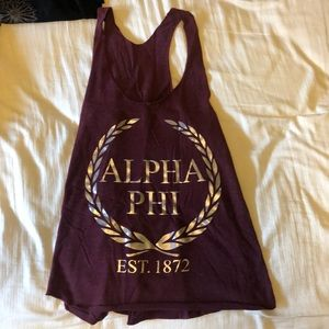Alpha Phi tank top